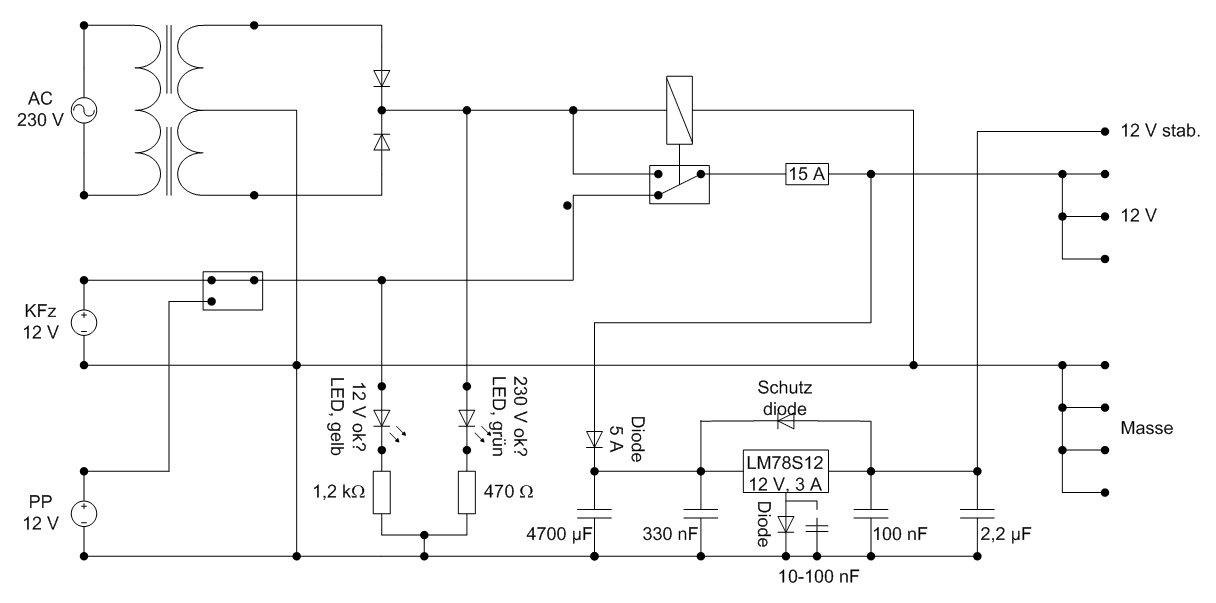 Dometic MK 140 und zusätzliche 12 V Verbraucher - Stromversorgung ...